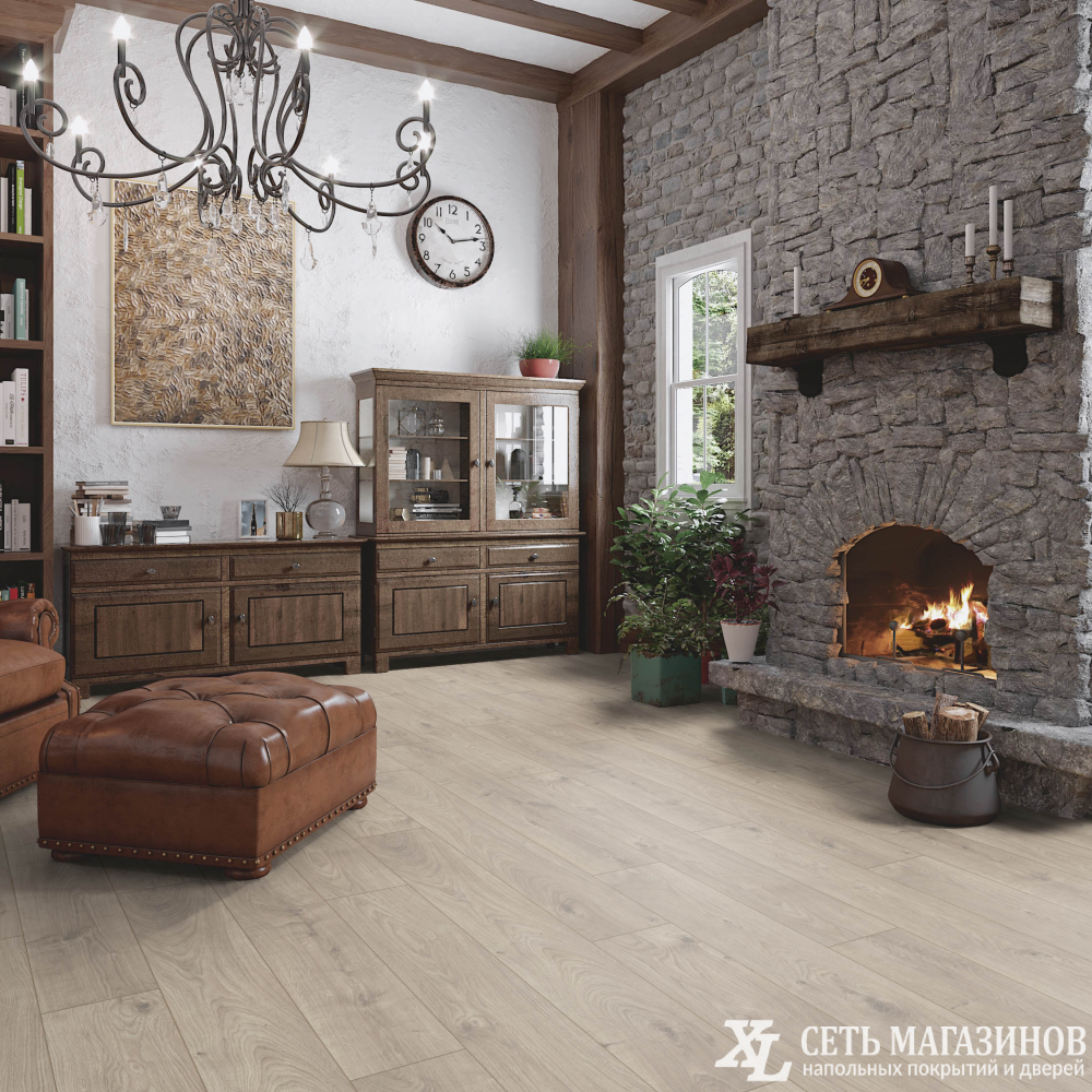 Ламинат Atlas Oak Beige My Floor Cottage 32 класс